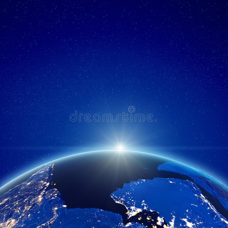 Medio Oriente ed Oceano Indiano royalty illustrazione gratis