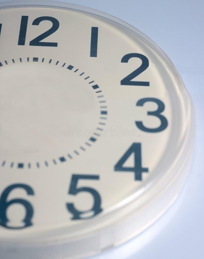 Medio reloj fotografía de archivo libre de regalías