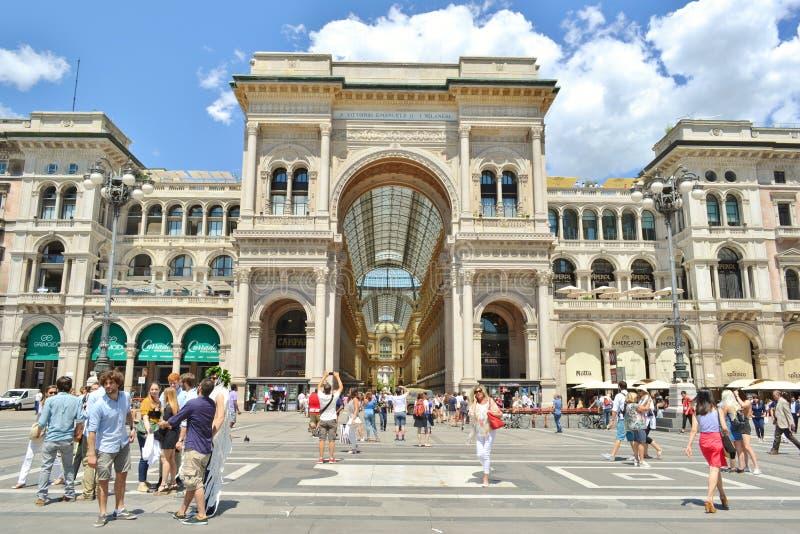 Mediolańscy stanów student uniwersytetu świętują skalowania wydarzenie zdjęcie stock