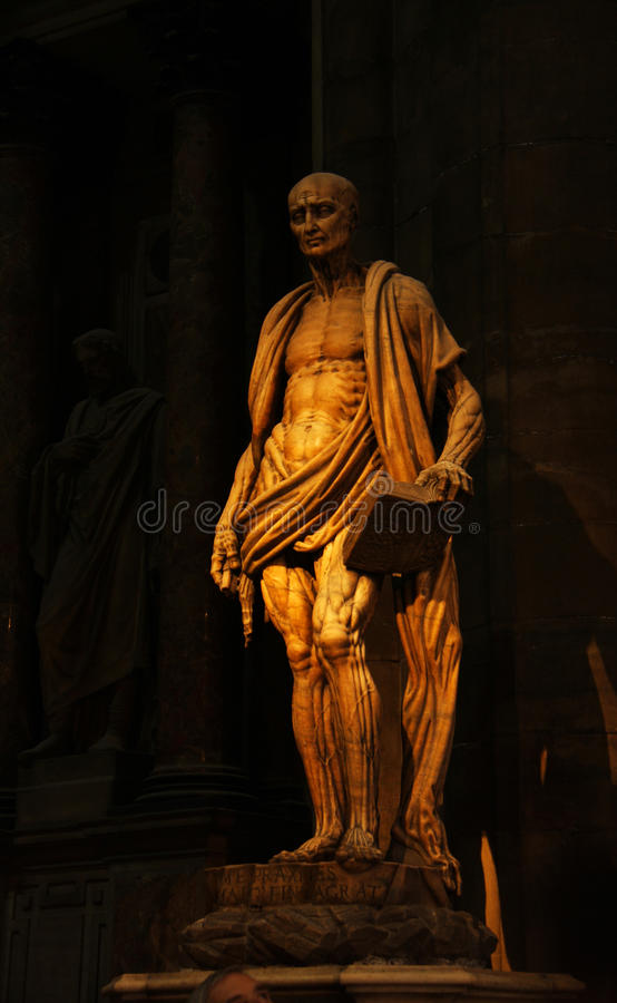 Mediolańska katedra zdjęcie stock