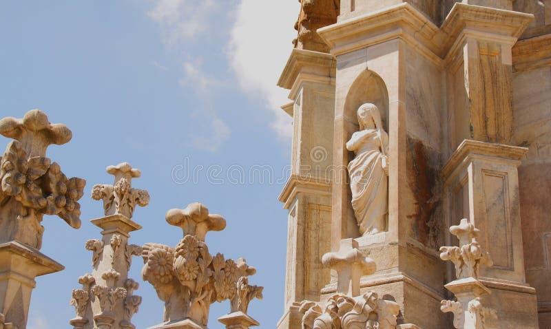 Mediolańska katedra obrazy stock