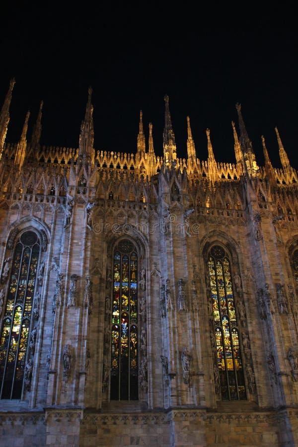 Mediolański katedralny kościelny Duomo zdjęcia royalty free