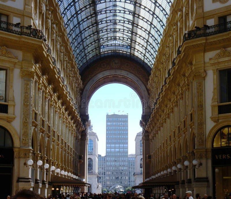 Mediolan - Główna ręka galeria obrazy royalty free