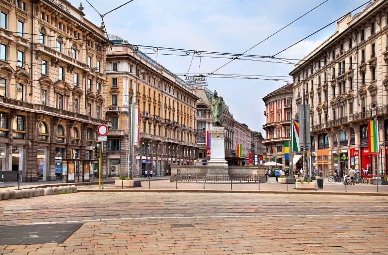 Mediolan, Włochy zdjęcie royalty free