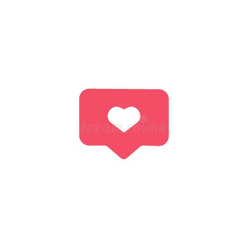 Medios botones sociales del interfaz de Instagram, iconos: hogar, cámara, comentario, búsqueda, cámara de la foto, corazón, como, stock de ilustración