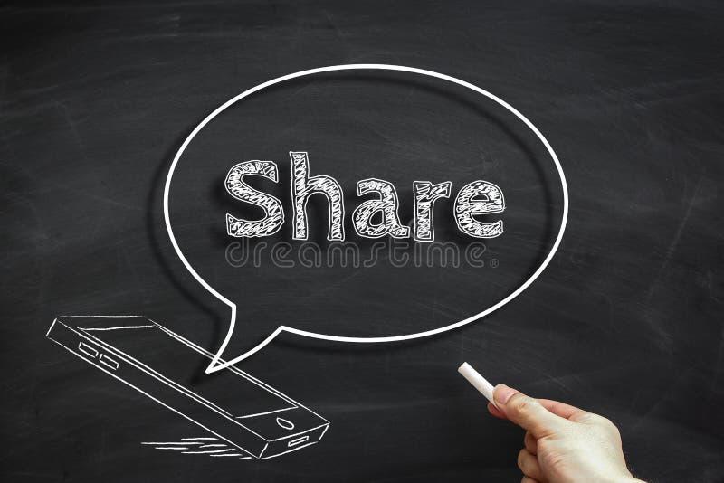 Medios parte social imagenes de archivo
