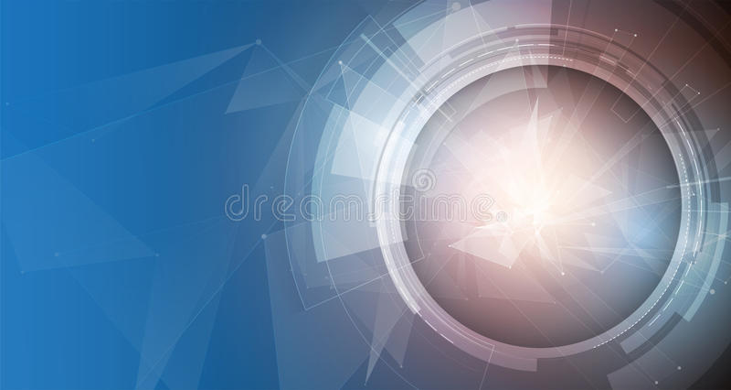 Medios tecnología, evolución de la integración en vida, para el negocio stock de ilustración