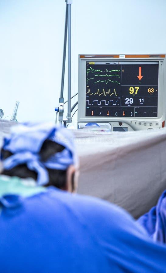 Medisch Defocused chirurgisch centrum royalty-vrije stock afbeelding