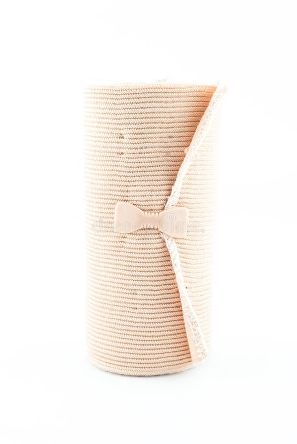 Medisch elastisch strekspierverband stock fotografie