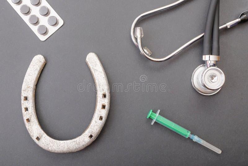 Medisch geluk stock foto