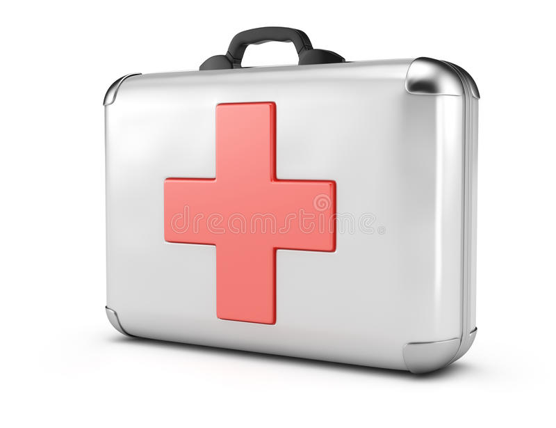Medisch geval vector illustratie