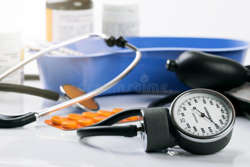 Medisch hulpmiddelen en materiaal stock foto's