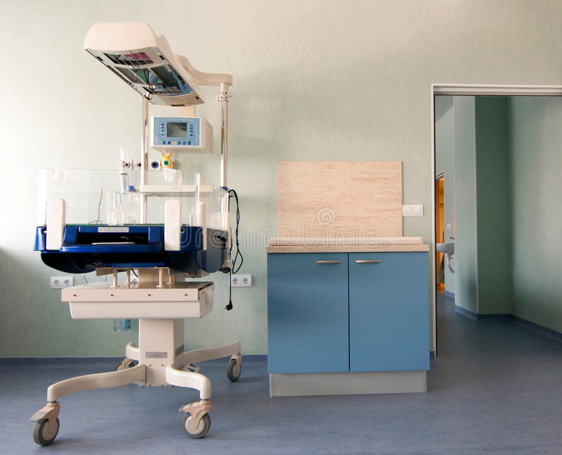 Medisch-kenmerkende apparatuur ruimte stock foto's