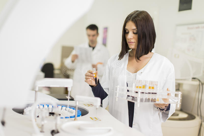 Medisch laboratorium stock afbeelding