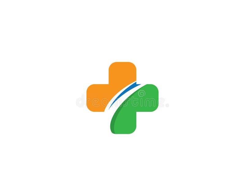 Medisch Logo Template vector illustratie