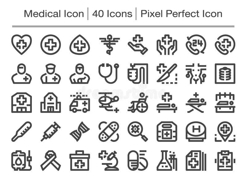 Medisch pictogram vector illustratie