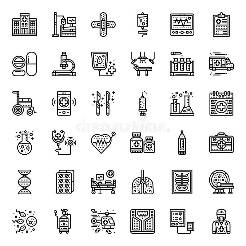 Medisch pictogram stock illustratie