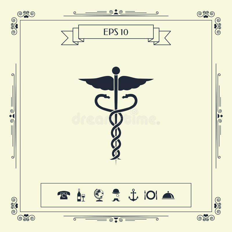 Medisch symbool vector illustratie