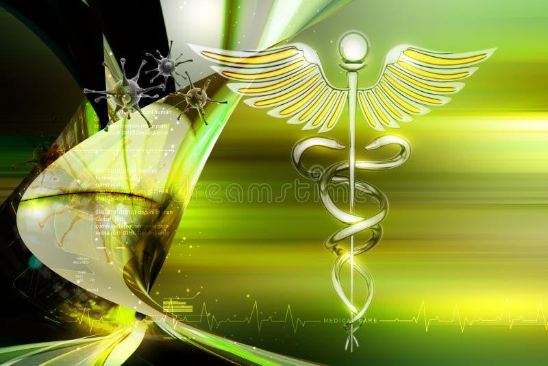 Medisch symbool stock illustratie