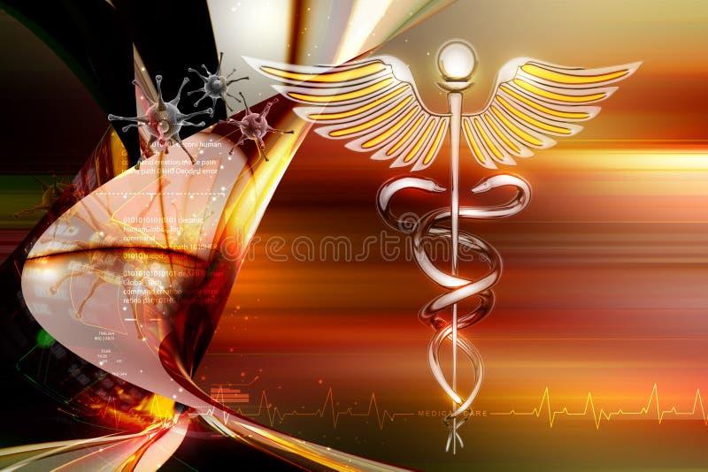 Medisch symbool royalty-vrije illustratie