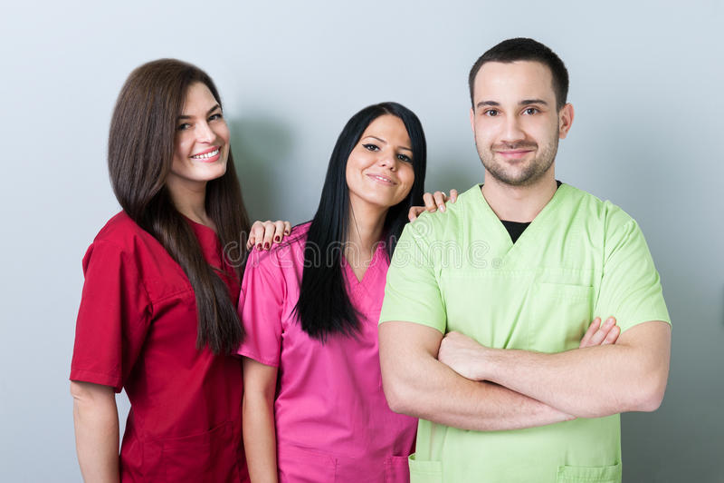 Medisch of tandteam stock foto's
