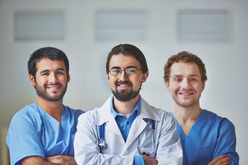 Medisch team stock afbeelding