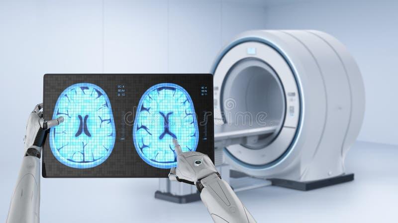 Medisch technologieconcept royalty-vrije illustratie