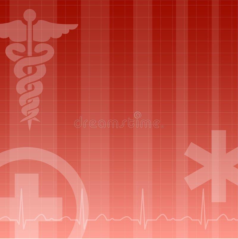 Medische achtergrond royalty-vrije illustratie