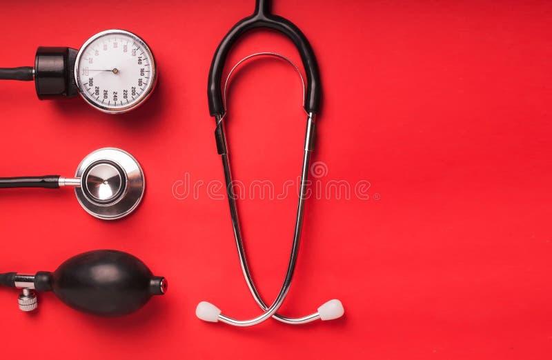 Medische achtergrond Medische hulpmiddelen royalty-vrije stock fotografie