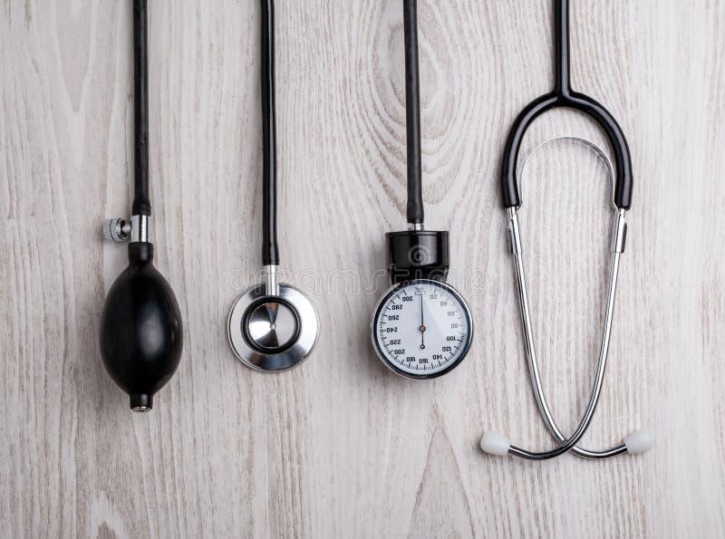 Medische achtergrond Medische hulpmiddelen royalty-vrije stock foto's