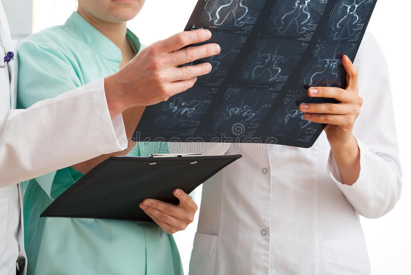 Medische analyse stock afbeelding