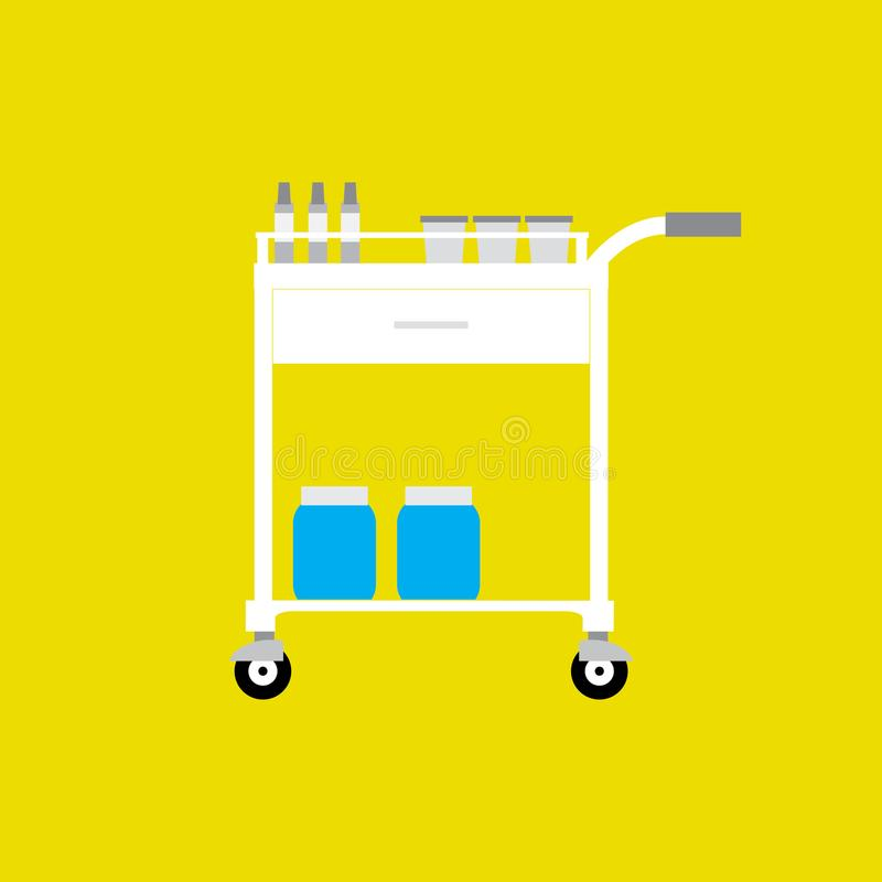 Medische apparatuur vector illustratie