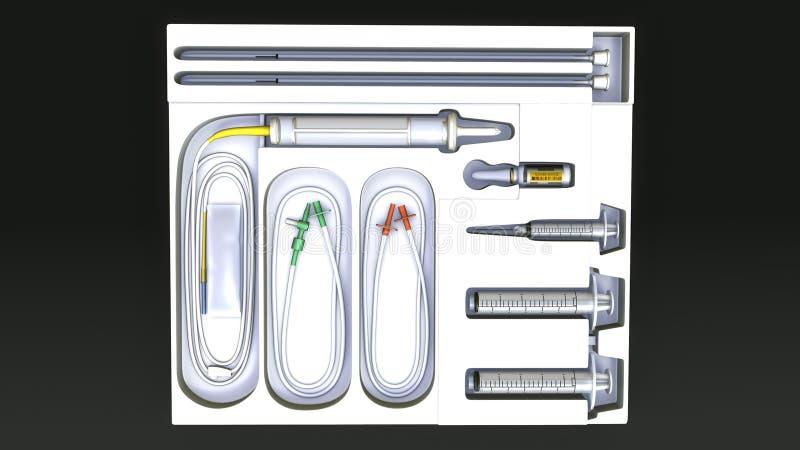 Medische apparatuur stock afbeelding