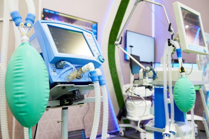 Medische apparatuur bij tentoonstelling royalty-vrije stock afbeeldingen