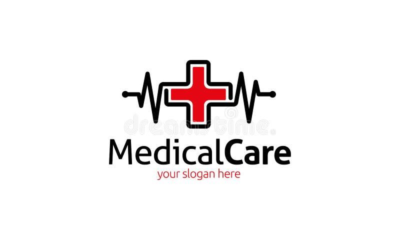 Medische behandelingembleem stock illustratie