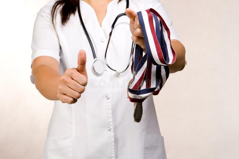 Medische beloning stock afbeeldingen