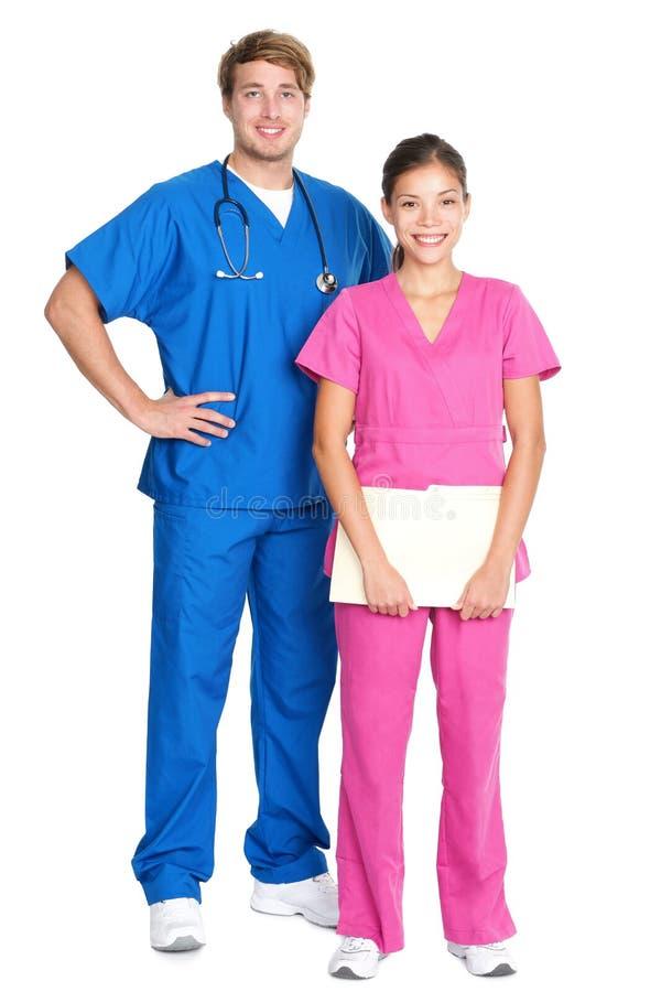 Medische beroeps stock foto