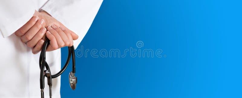 Medische blauwe achtergrond royalty-vrije stock foto's