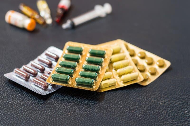 Medische drug stock afbeelding