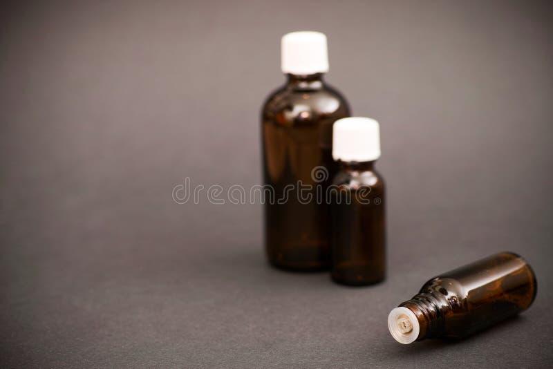 Medische flessen royalty-vrije stock foto's