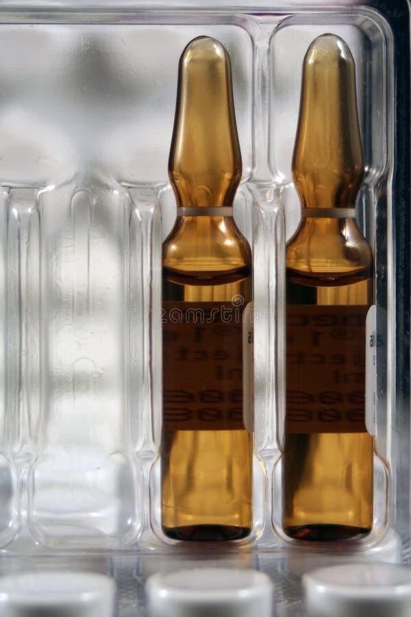 Medische flessen stock fotografie