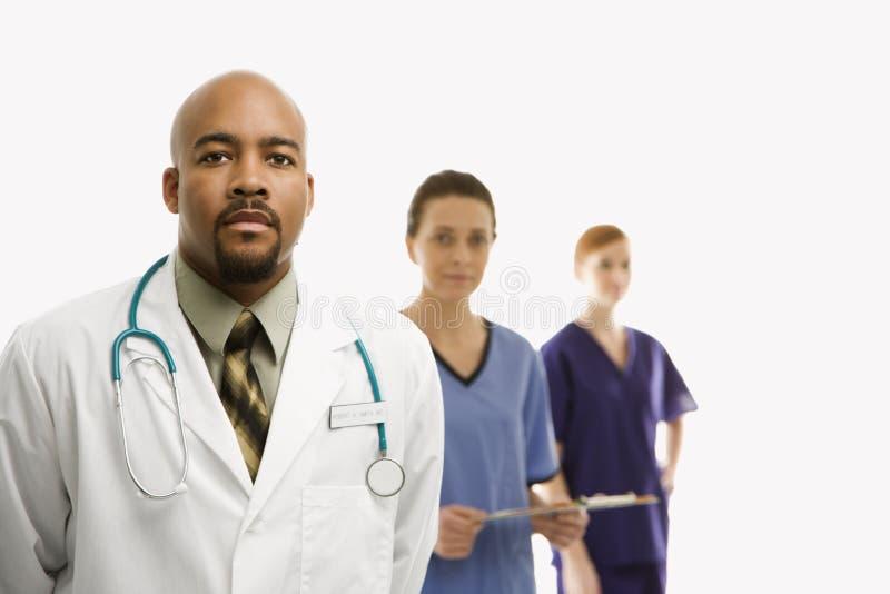 Medische gezondheidszorgarbeiders royalty-vrije stock foto's