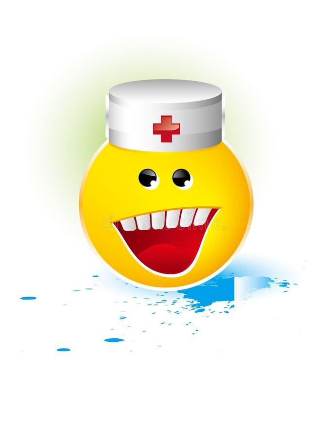 Medische glimlach stock illustratie