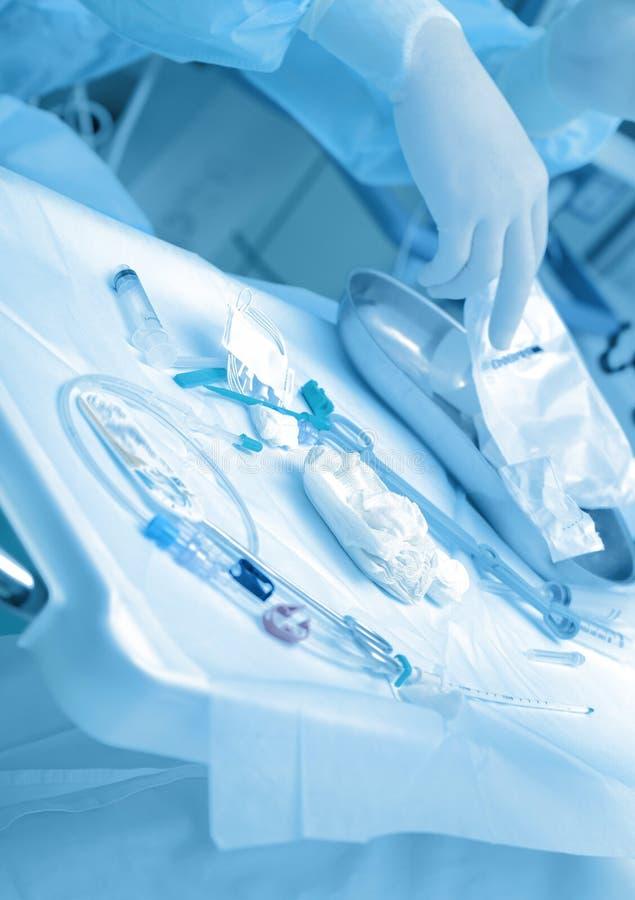 Medische hulpmiddelen voor manipulaties stock foto