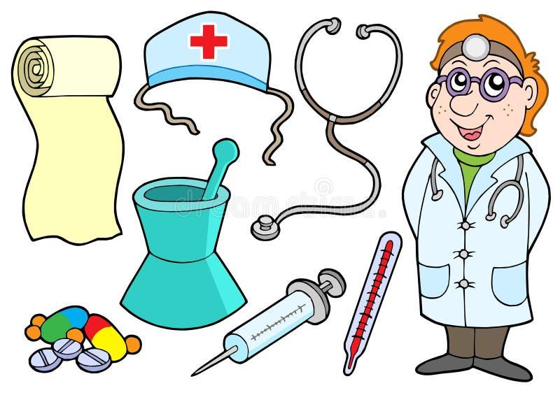Medische inzameling stock illustratie