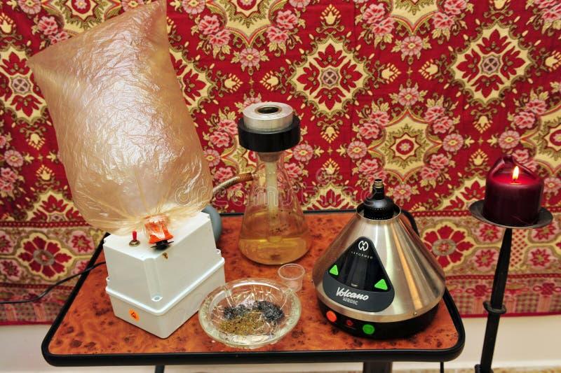 Medische Marihuana royalty-vrije stock afbeeldingen