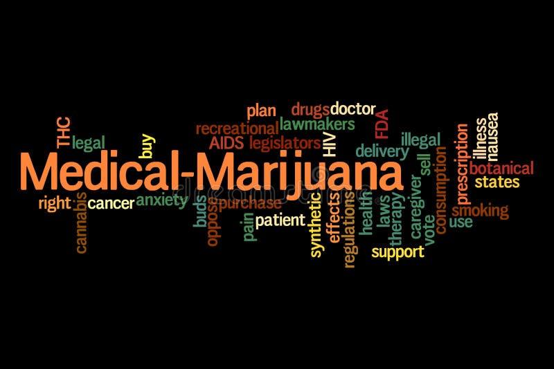 Medische Marihuana vector illustratie
