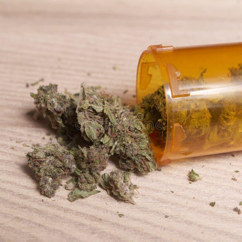 Medische Marihuanaachtergrond royalty-vrije stock fotografie