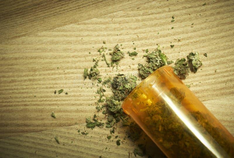 Medische Marihuanaachtergrond royalty-vrije stock foto