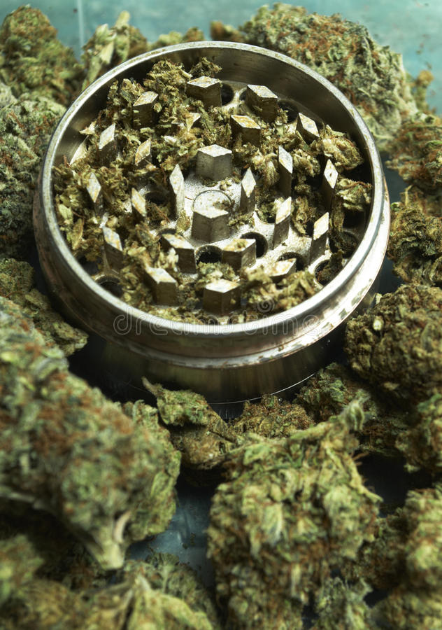Medische Marihuanaachtergrond stock fotografie